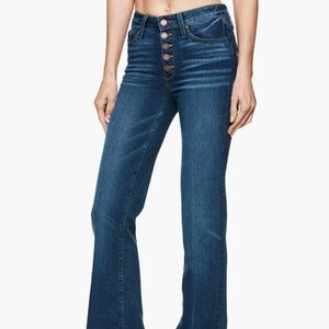 Sold out, PAIGE Genevieve Flare/trouser Jeans - 27